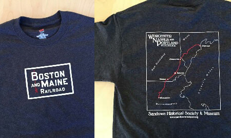 Boston and Maine Railroad T-Shirts